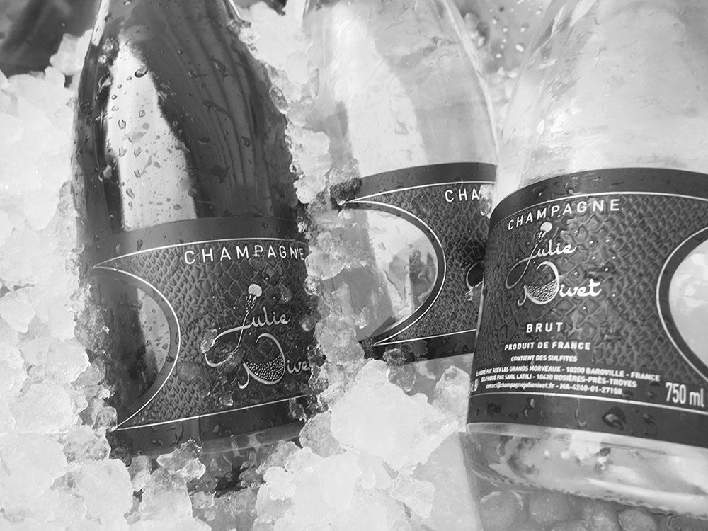 Champagne Julie Nivet frais