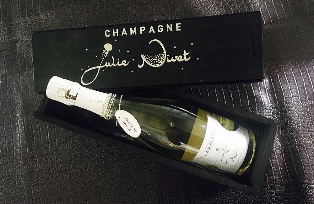 Coffret Champagne Blanc de blancs