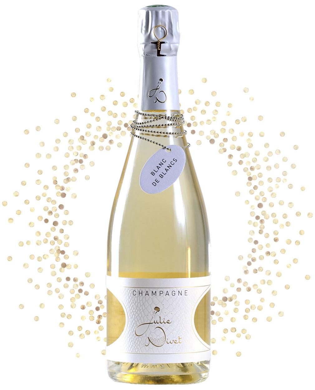 Bouteille Champagne Blanc de blancs