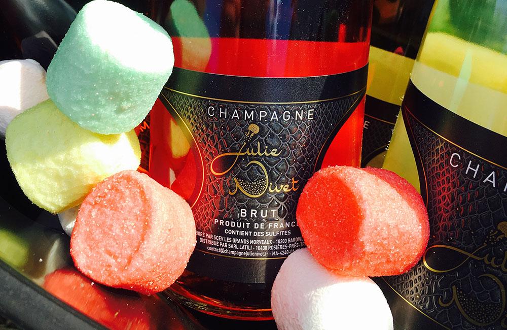 Seau Champagne Rosé