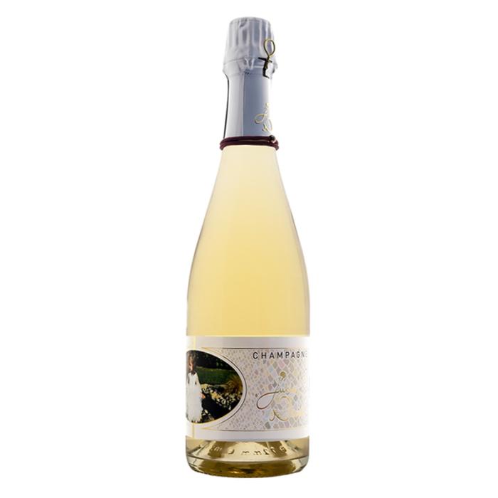 Bouteille de champagne personnalisée Julie Nivet