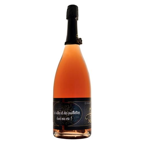 Magnum de champagne personnalisé Julie Nivet