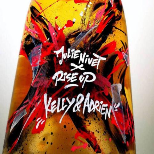 Magnum graffé par Rise up