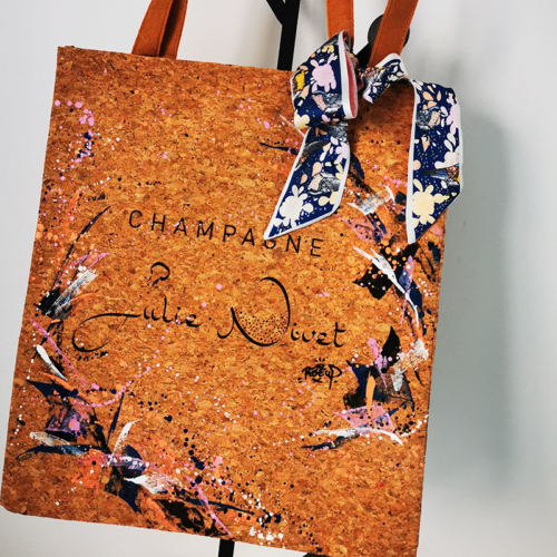 Graffiti cork bag - Julie Nivet